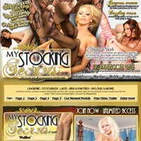 My Stocking Secrets - the sexiest models on the planet put on the hottiest pantyhose just for you!